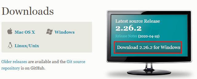 ติดตั้ง Git บน Windows