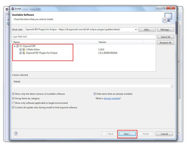 ปรับแต่ง ให้ Eclipse IDE ใช้งานกับ ESP32 ESP-IDF