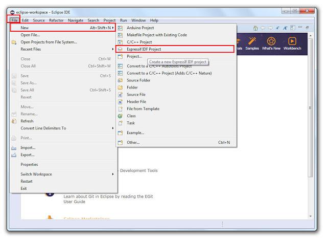 Eclipse IDE พร้อมใช้งานกับ ESP-IDF แล้ว