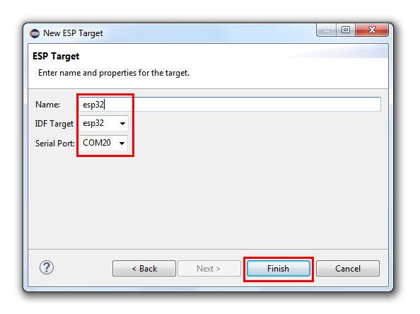 การใช้งาน ESP32 ด้วย ESP-IDF และ Eclipse IDE