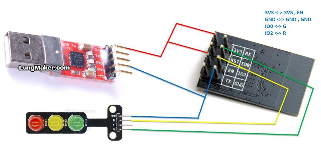วิธีใช้ ESP8266 ESP-01 สร้างเครือข่าย WiFi