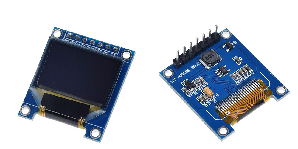การใช้งานจอ OLED Display SSD1331 ด้วย ATtiny85