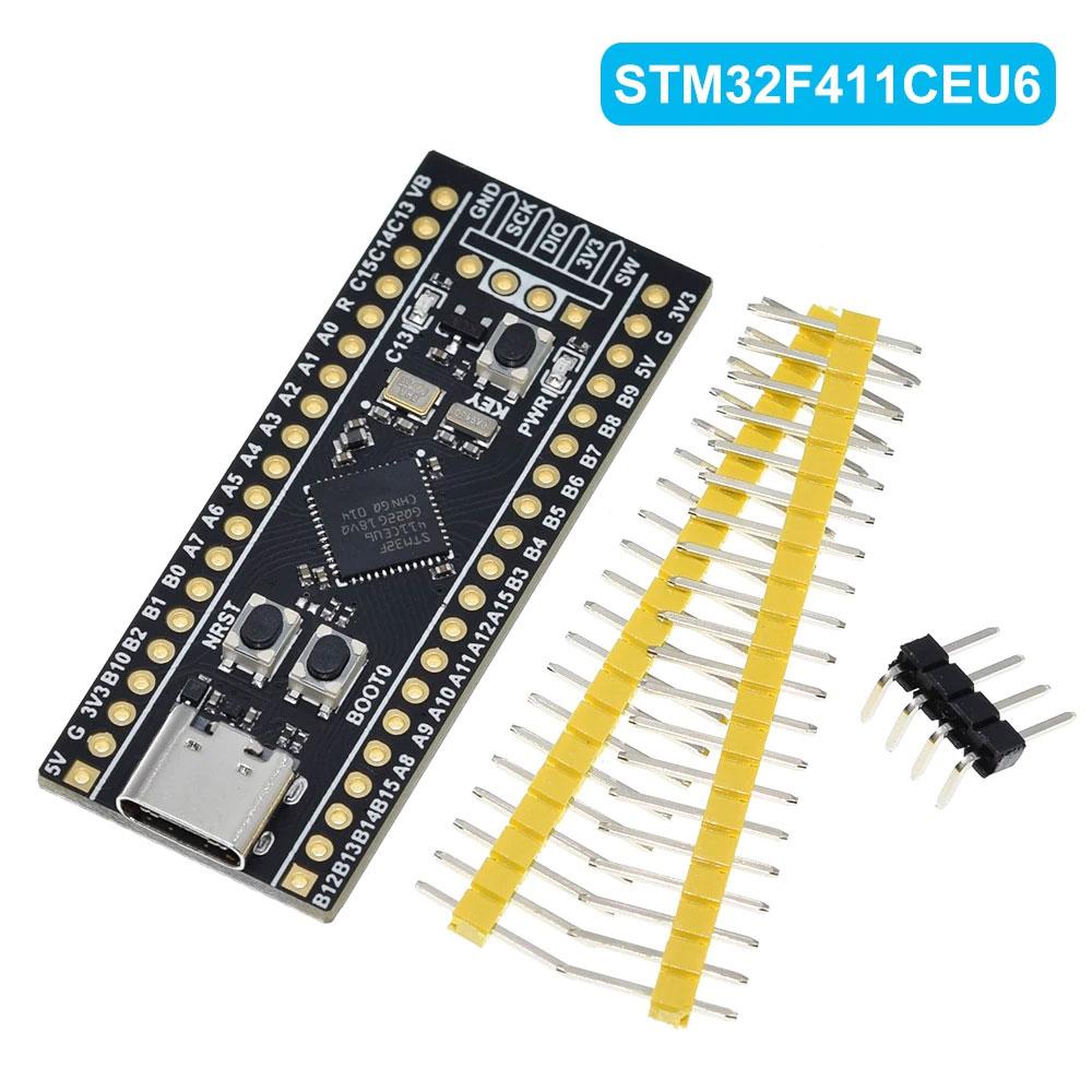 การใช้งานบอร์ด STM32F411CEU6