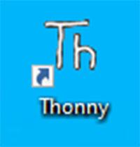 เปิดโปรแกรม Thonny IDE