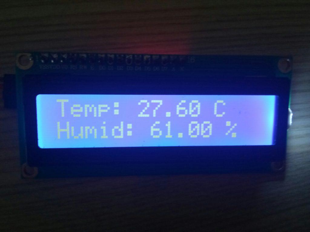 STM32 วัดอุณหภูมิ และความชื้น