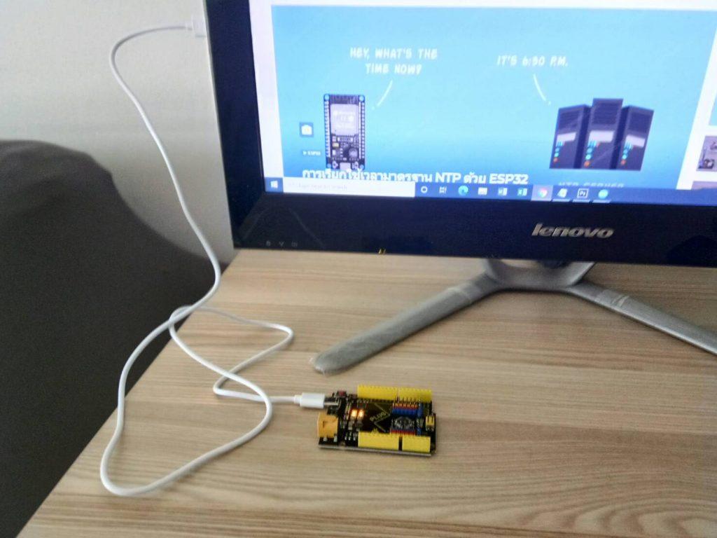 Arduino UNO R3 รุ่น Keyestudio PLUS
