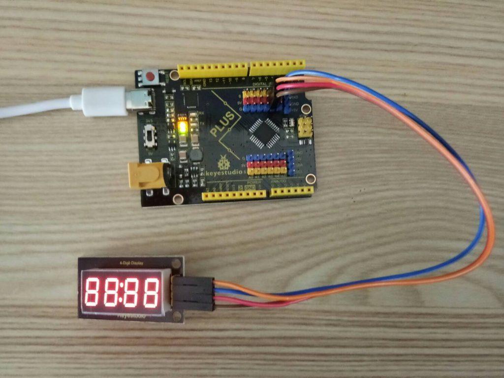 การใช้งาน 4-Digit LED Display กับ Arduino
