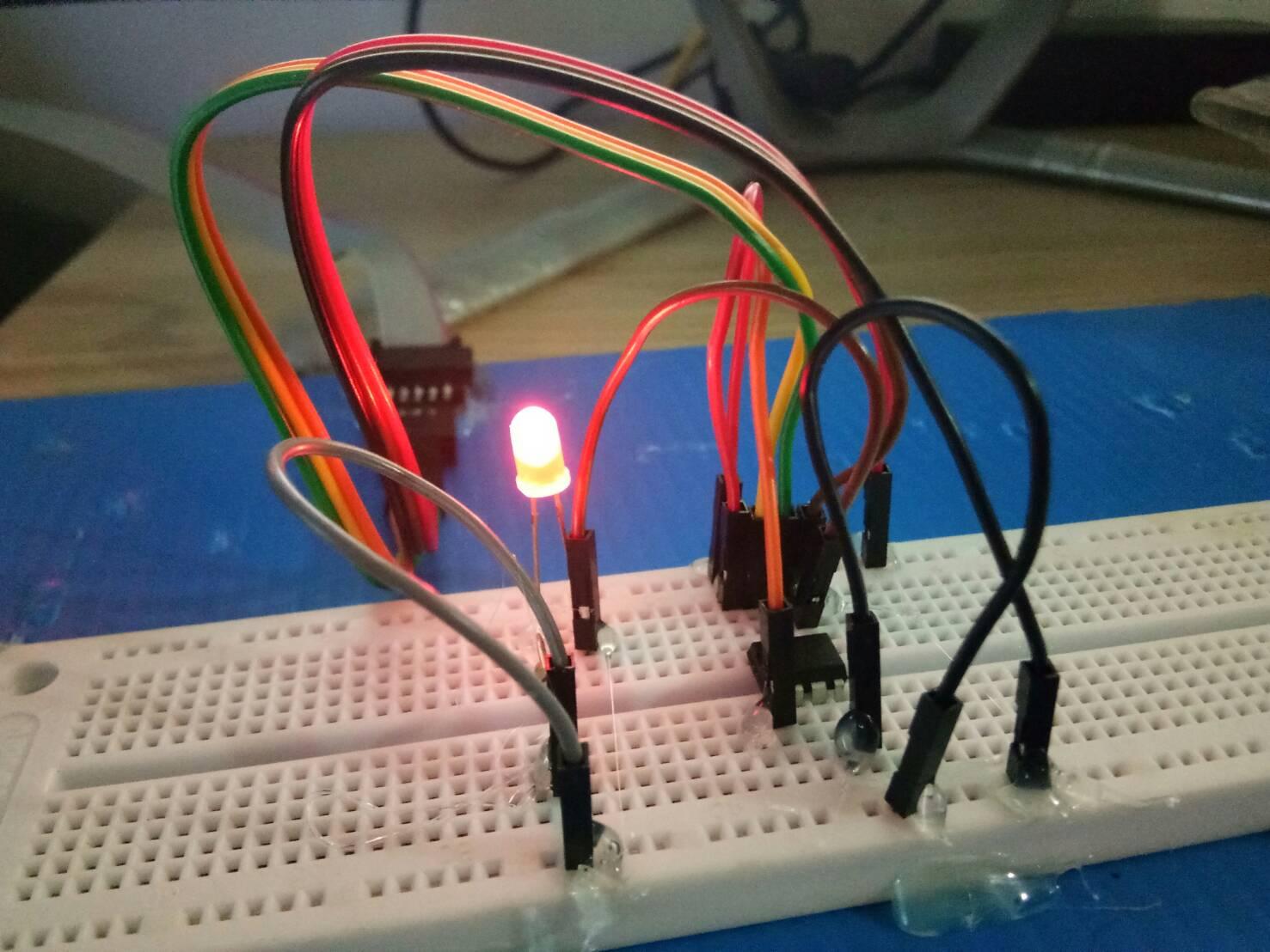 AVR ภาษาแอสเซมบลี Blink ไฟกระพริบ LED