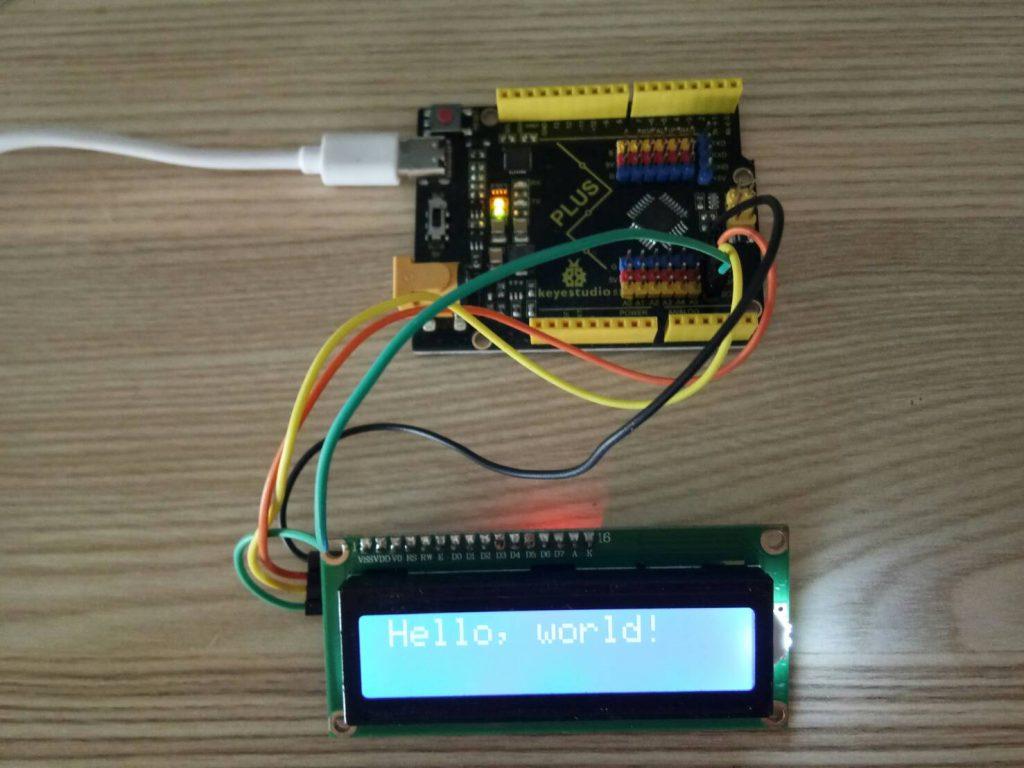 การใช้งานจอ LCD 1602 กับ Arduino