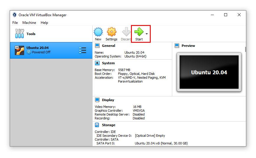 ติดตั้ง Ubuntu 20.04 บน Virtual Machine